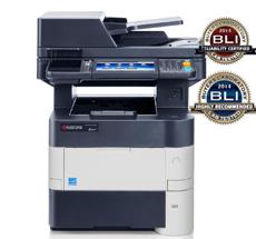 M3550idn KYOCERA Siyah Beyaz A4 Fotokopi, Net. Yazıcı, Renkli Tarayıcı, Faks