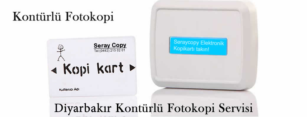 Diyarbakır Kontürlü Fotokopi