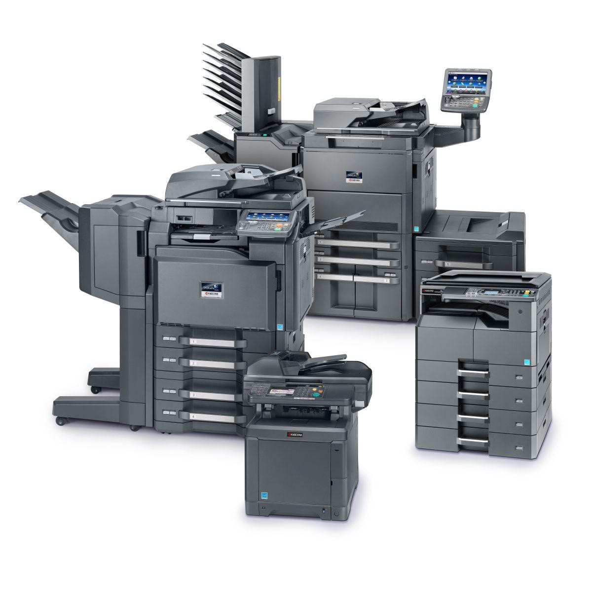 Geniş Renkli ve Siyah Beyaz Fotokopi Makineleri